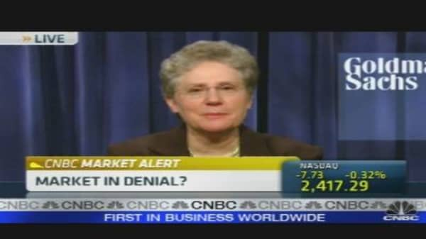 Market In Denial?