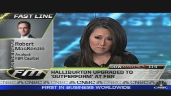 FBR Upgrades Halliburton