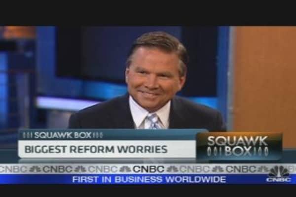Financial Reform's Future