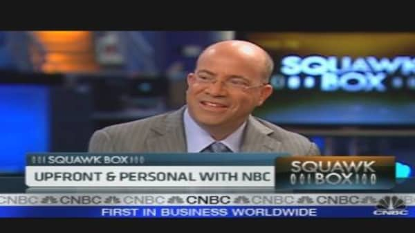 Upfront and Personal With NBC's Zucker
