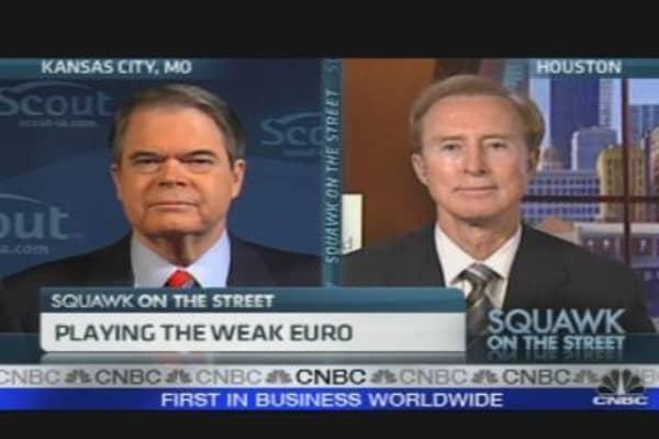 Playing the Weak Euro