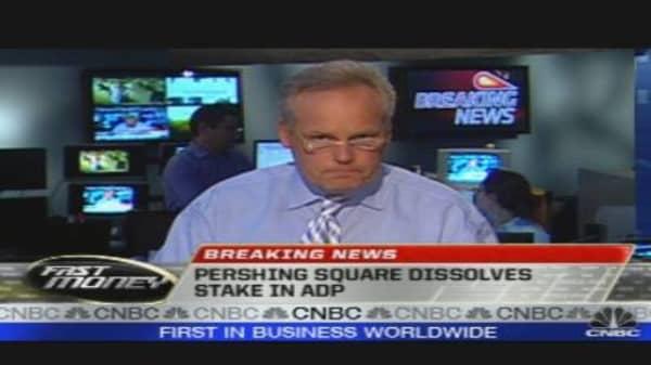 Pershing Square Dissolves Stake in ADP