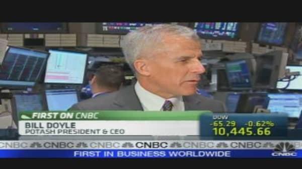 Potash CEO on Fertilizer Market