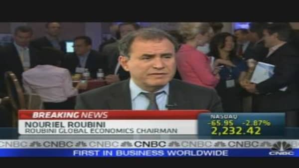 Roubini: Double-Dip Likely?