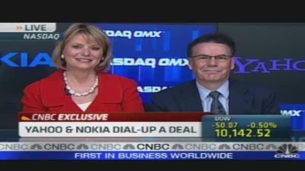 Yahoo & Nokia Dial-Up a Deal
