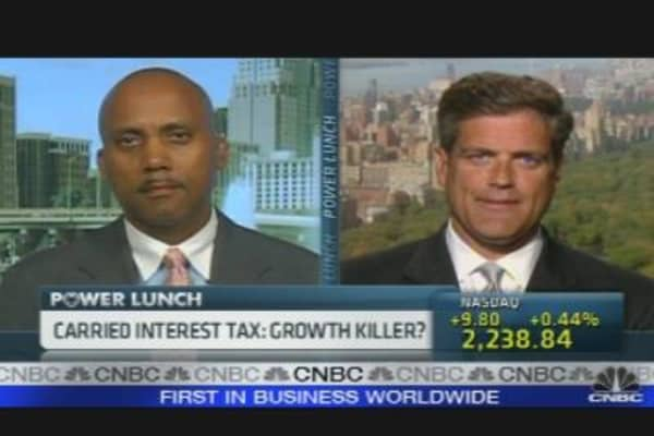 Carried Interest Tax: Growth Killer?