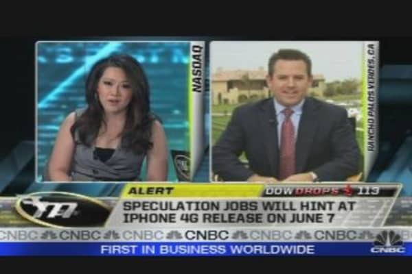 Jobs' Speech Minutes Away