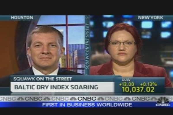 Baltic Dry Index Soaring