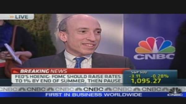 CFTC Chairman's Evolving Mission