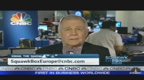Time to Buy the Euro: Jim Rogers