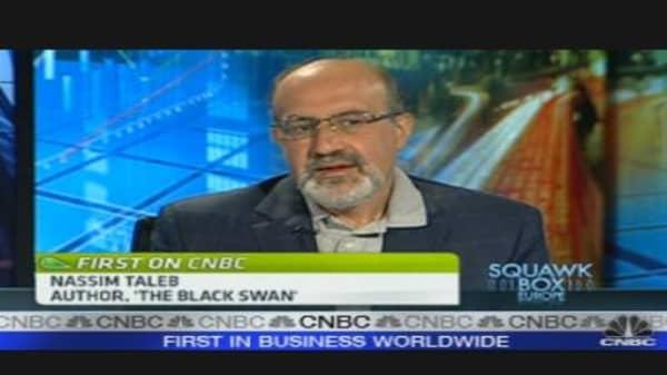 Debt Slashing Only Solution: Black Swan Author