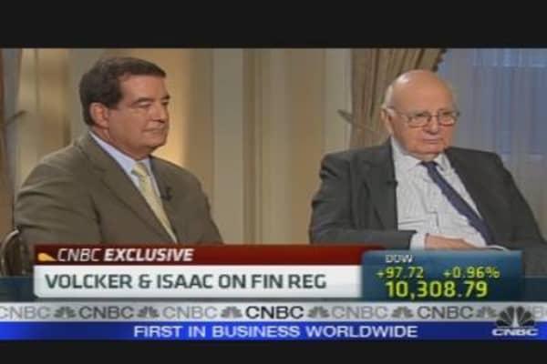 Volcker & Isaac On Fin Reg