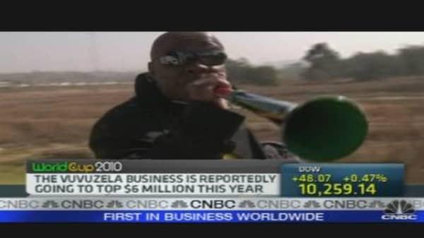 Business of Vuvuzelas