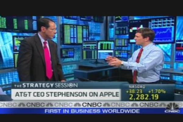 AT&T CEO on Wireless Industry, Apple & More