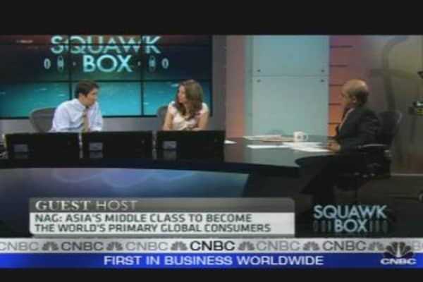 Asia's Middle Class to Drive Consumption