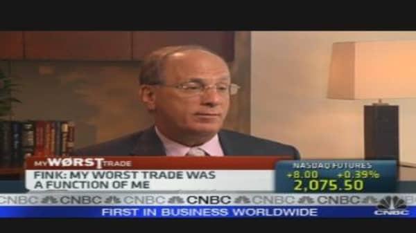 Fink's Worst Trade