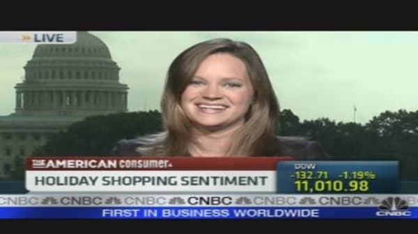 Holiday Shopping Sentiment