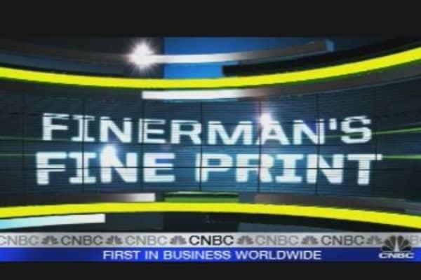Finerman's Fine Print: Tankers Going Down