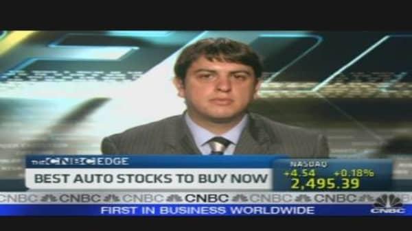 Best Auto Stocks to Buy Now
