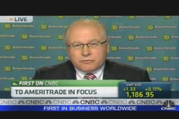 TD Ameritrade CEO on Earnings