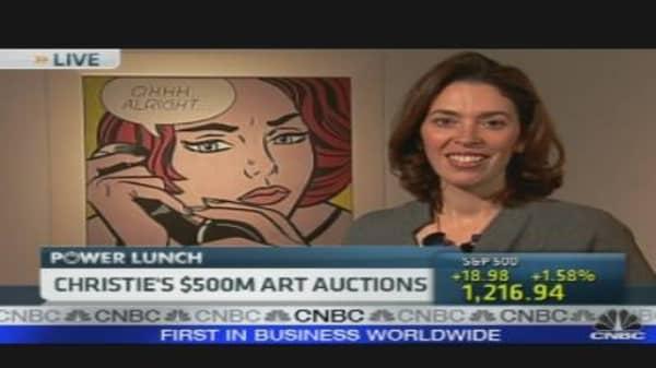 Christie's $500M Art Auctions