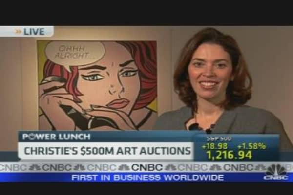 Christie's $500M Art Auctions