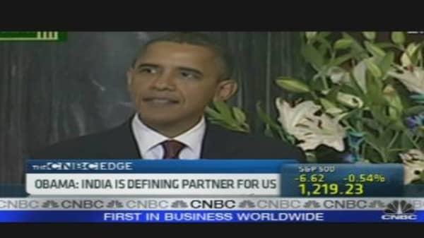 Obama: India Is Defining Partner