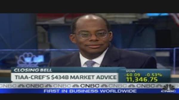 TIAA-CREF's $484B Market Advice