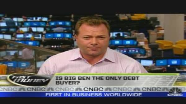 Big Ben the Only Debt Buyer?