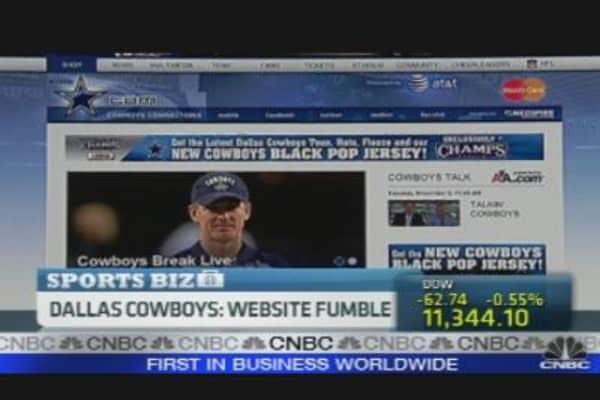 Dallas Cowboys Nearly Lose Website