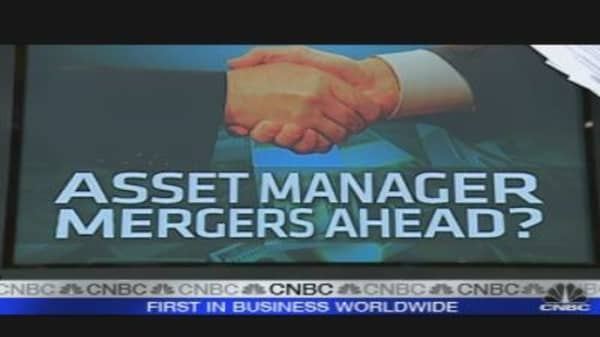 Will Asset Managers Merge?