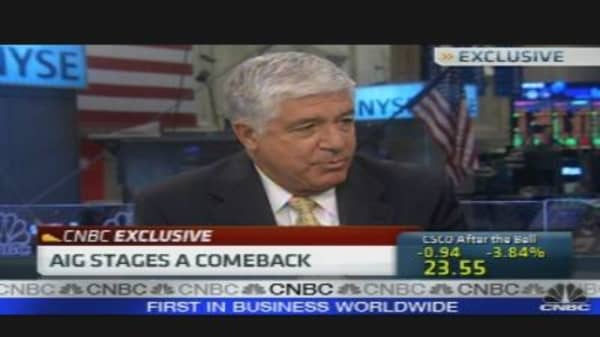 AIG Stages a Comeback
