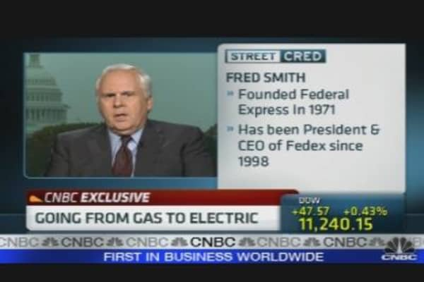 FedEx CEO on Electric Vehicles