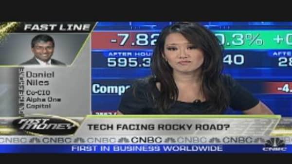 Tech Facing Rocky Road?