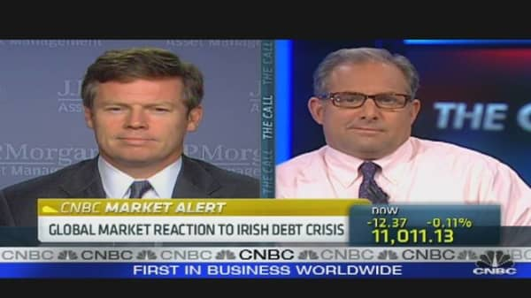 Markets React to Irish Debt Crisis