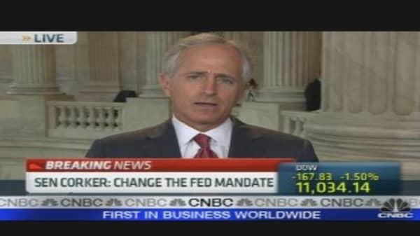 Corker: Change Fed Mandate
