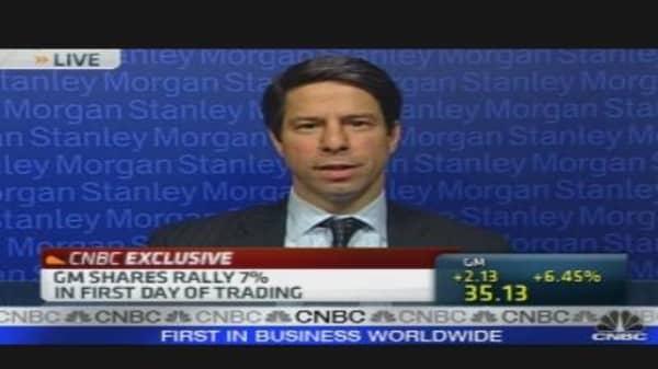 Morgan's Man Behind GM IPO