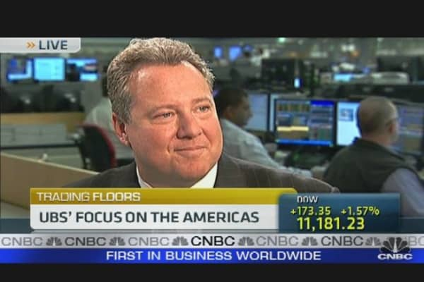 UBS Americas CEO Shares Outlook