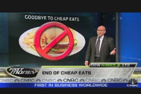 Trading the Globe: End of Cheap Eats