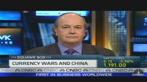 Currency War Brews