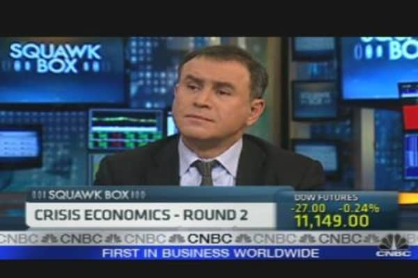 Roubini, Bremmer on Crisis Economics