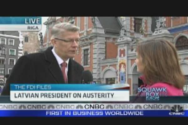 Latvia Willing to Help Ireland: Latvian President