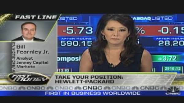Take Your Position: HPQ Earnings