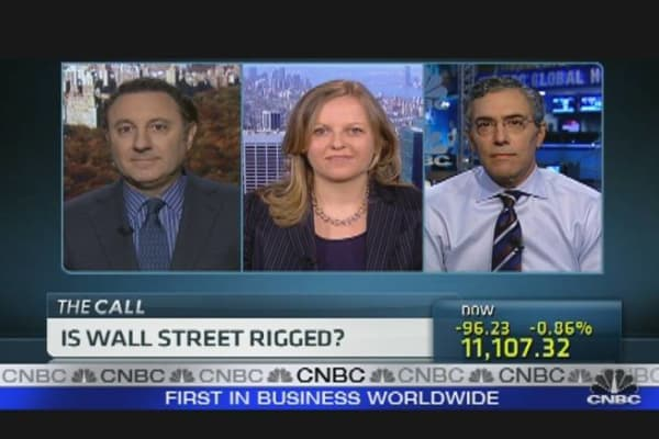 Is Wall Street Rigged?