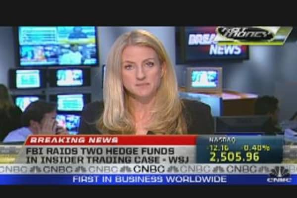 FBI Raids Two Hedge Funds