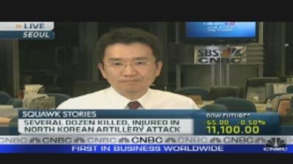 South Korea Fires Back
