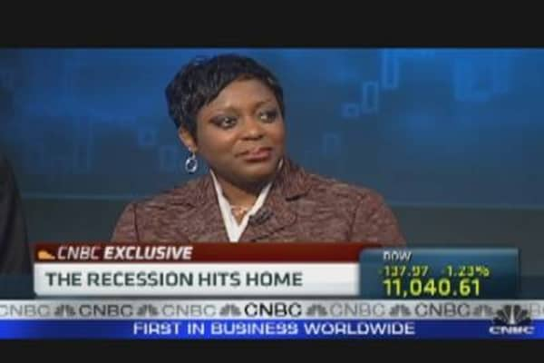 Recession Hits Home for Velma Hart
