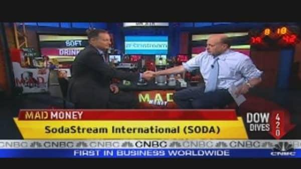 SODA CEO Speaks to Cramer