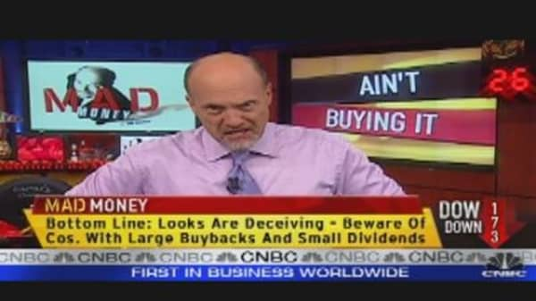 Cramer Explains Buybacks