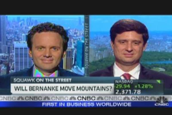 Will Bernanke Move Mountains?